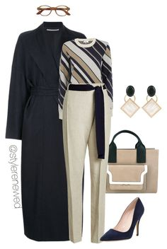 """Work Outfit"" by sherristylz on Polyvore featuring Rosetta Getty, Carven, Marni, Victoria Beckham and Kate Spade"
