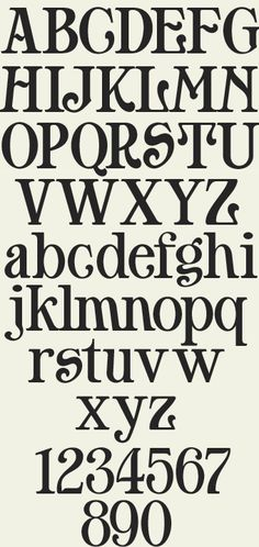 Highly unique typeface inspired by the 'Shopfronts' book which showcases various shopfronts and signage throughout England.