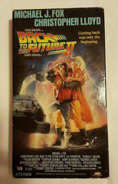 Back to the Future 2 (VHS, 1989) in DVDs & Movies, VHS Tapes | eBay