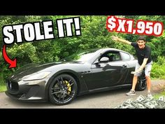 How Much Was My Maserati?? You Won't Believe It! - YouTube New Tesla, Ferrari F430, Maserati Granturismo, Gopro Hero, Once In A Lifetime, Dream Cars, Believe, The Incredibles, Youtube