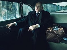 Louis Vuitton Handbags 'Gear Patrol' campaign photographed by Annie Leibovitz: Mikhail Gorbachev.