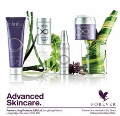 Infinite by Forever targets ageing from the inside out and the outside in with revolutionary formulas designed to tone and firm the #skin.