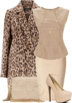 """Nice Neutrals"" by maggiesuedesigns ❤ liked on Polyvore"
