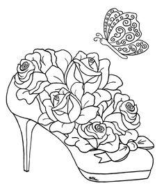 shoe rose