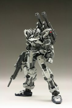 Astray Gundam Remodeled Full Weapons: Remodeling Work w/Many Weapons!