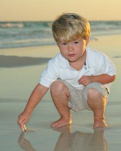 So cute!  #BeachPortrait #Candid #Seashells #Sunset