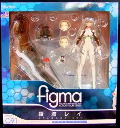 マックスファクトリー figma 091 綾波レイ プラグスーツ ver.