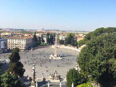 View from Pincio   #Pincio #rome #travel #visitrome #square #view #photography #visitrome  www.aladyinrome.com