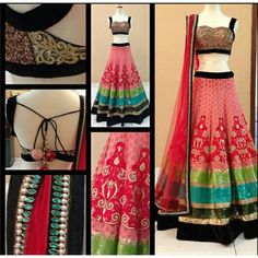 Miraculous Net Thread Work & Sequnce Work Semi-stitched Lehenga Choli at just Rs.2399/- on www.vendorvilla.com. Cash on Delivery, Easy Returns, Lowest Price.