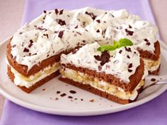 Schoko-Bananen-Sahne-Torte Rezept
