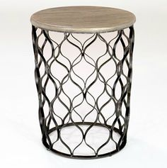Cost Plus World Market Jai Drum Table = $ 119.99