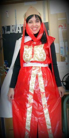 disfraz medieva bolsa de basura Middle Ages, Summer Fun, Castle Decorations, Ideas Para, Castles, Spain, China, Google, Fashion