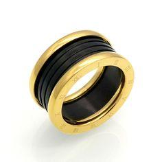 새로운 패션 보석 최고 품질 애호가 럭셔리 브랜드 반지 11 미리메터 웨딩 블랙 스테인레스 스틸 솔리드 링 파티