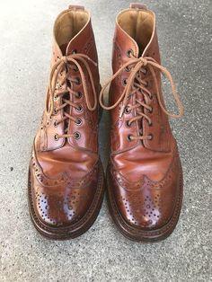 靴バカ.com Trickersカントリーブーツ Men Dress, Dress Shoes, Derby, Oxford Shoes, Boards, Lace Up, Mens Fashion, Wallet, Canvas