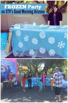 Disney Frozen Party Ideas on TV!