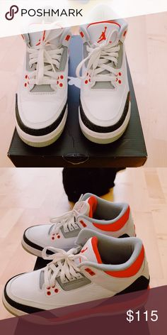72e9f040c9dd Kids Retro Jordan s 6.5 Fire Reds Kids Retro Jordans Size 6.5 Fire Reds