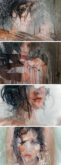 "Alyssa Monks creates amazing ""hyperrealistic"" paintings that are incredible to look at // Genevieve Keillor // Gallery Intern"