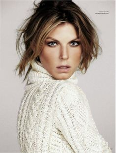 angela lindvall by lado alexi for harper's bazaar russia
