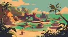 the Bay. by NathanDupouy on deviantART ★ || CHARACTER DESIGN REFERENCES (www.facebook.com/CharacterDesignReferences & pinterest.com/characterdesigh) • Love Character Design? Join the Character Design Challenge (link→ www.facebook.com/groups/CharacterDesignChallenge) Share your unique vision of a theme every month, promote your art and make new friends in a community of over 25.000 artists! || ★
