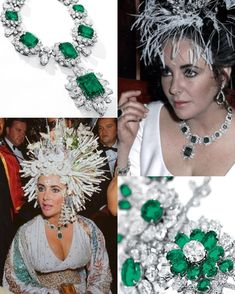 The 4th most popular DitL blog post of 2017! Elizabeth Taylor's Bulgari emeralds. .