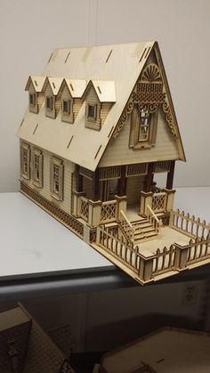 Little Nikki Victorian 1:24 Scale Dollhouse, $165.00