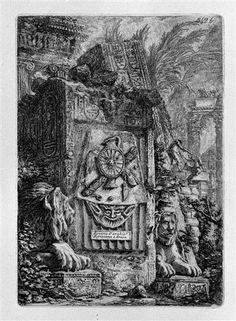Ruins of Egyptian and Greek Architecture - Giovanni Battista Piranesi
