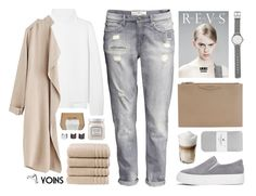 """""""Yoins"""" by ruska-10 ❤ liked on Polyvore featuring H&M, Vanessa Bruno, Christy, Givenchy, Le Labo, Luv Aj, Witchery, American Eagle Outfitters, Laura Mercier and yoins"""
