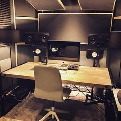 "2,745 Likes, 18 Comments - Music Studios (@musicstudios) on Instagram: ""@vulkanstudio in Germany ⠀⠀ ⠀⠀⠀⠀⠀ #musicstudio #musicproduction #studioporn #studiosetup…"""