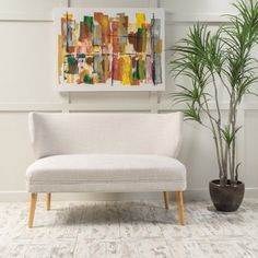 This Desdemona mid-century loveseat by Christopher Knight Home is a great addition for any home. Featuring both comfort and style, the contemporary 2 seater sofa is perfect for a home office or living