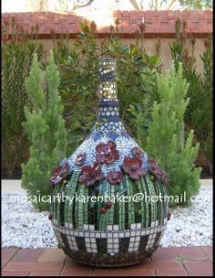 mosaic garden sculptures   Garden Sculptures - MosaicArt by KarenBaker