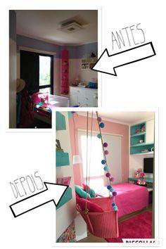 Antes e Depois de um quarto infantil By Neo Arq / SP