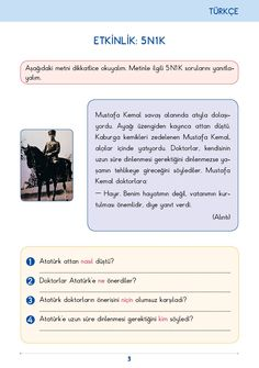 3. Sınıf Konu Anlatım Türkçe Bilgi Kutusu Learn Turkish, Turkish Language, Learning Arabic, Primary School, Special Education, Activities For Kids, Classroom, Books, Class Room