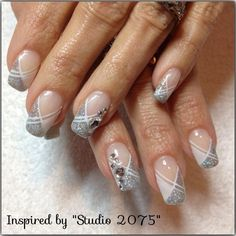 brides nails by Melinailfreak - Nail Art Gallery nailartgallery.nailsmag.com by Nails Magazine www.nailsmag.com #nailart