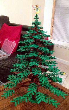 "24"" tall lego christmas tree"