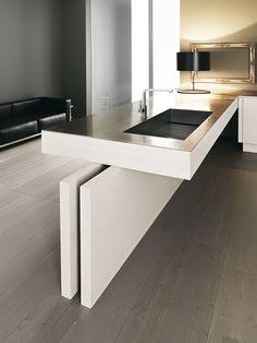 Kitchen decor, Kitchen designs, Kitchen decorating ideas - Yara kitchen | Cesar                                                                                                                                                      Mais