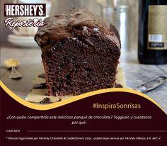 #InspiraSonrisas con Hershey's® Repostería. #Hersheys #Chocolate #InspiraSonrisas #Repostería #Postres #Receta #DIY #Recetario #Delicioso