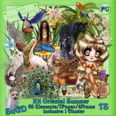 ScrapGrafikShop: PU Kit Oriental Summer