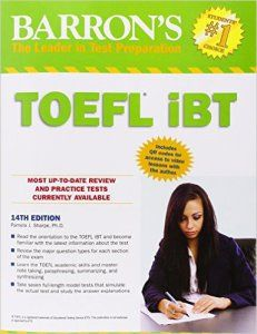 Free Download. Barron's TOEFL iBT, 14th Edition