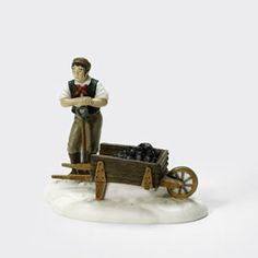 "Department 56: Products - ""London Gas Worker"" - View Accessories REALLY LIKE"