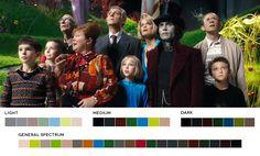 Paleta de cores dos filmes - Publistagram