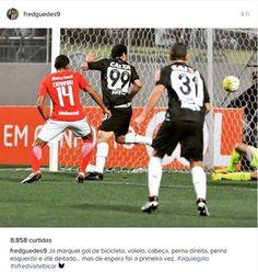 Fred comemora gol pelo Atlético-MG (Foto: Reprodução/ Intagram )
