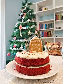 red velvet cake di Natale Oreo, Gingerbread, Cake, Desserts, Food, American Pie, Food Cakes, Tailgate Desserts, Deserts