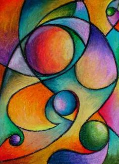 Color Theory, Shading, Form, Composition, maybe even Cubism or Kandinsky?