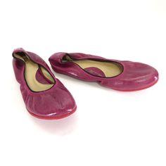 John Fluevog Womens Shoes Size 6 Integrity Amie Berry Slip On Ballet Flats #JohnFluevog #BalletFlats #Casual