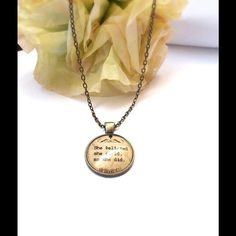 """""""She Believed She could"""" Necklace Inspirational necklace very sweet Jewelry Necklaces"""