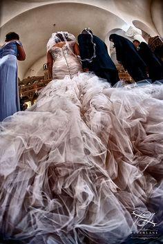 Sophia's flamboyant tulle skirt