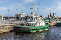 Dublin Port: The two tugs, 'Shackleton' and 'Beaufort', are named after two remarkable patrons of exploration