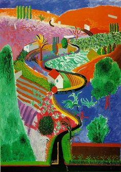 David Hockney, Nichols Canyon
