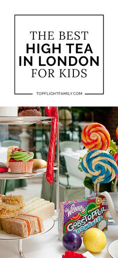 A trip to London is incomplete without experiencing afternoon tea. Options with the best high tea in London for kids add a twist on an old tradition.