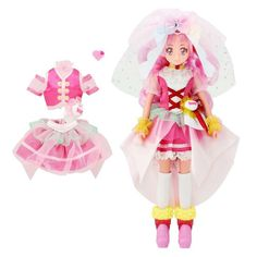 Pretty Cure Precure Style Cure Star Twinkle Style DX Fashion Doll w//Tracking NEW
